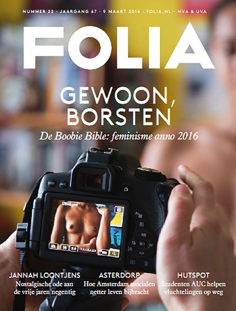 De gewraakte editie van Folia Beeld Folia