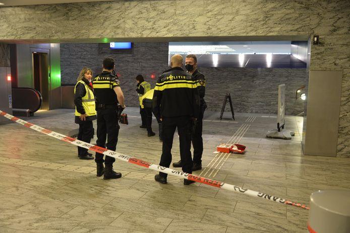 Persoon gewond geraakt op station Breda.