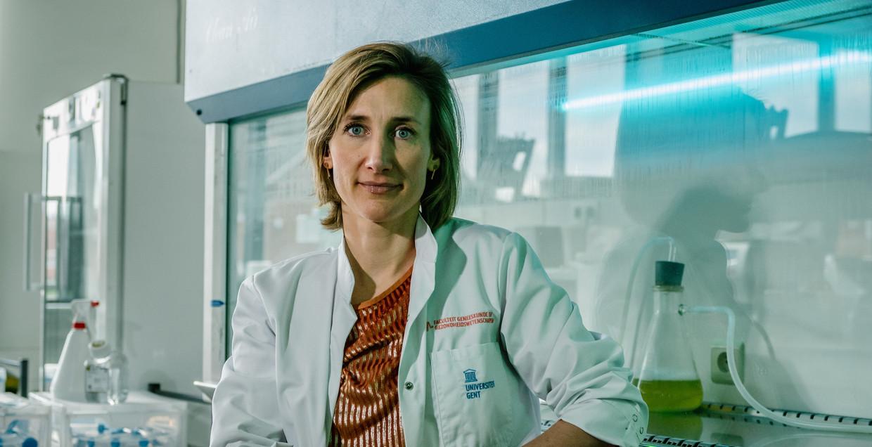 Vaccinoloog Isabel Leroux-Roels: 'Iedere week uitstel, doordat we vaccins niet inzetten, zorgt ervoor dat er mensen opgenomen worden en overlijden.' Beeld Wouter Van Vooren