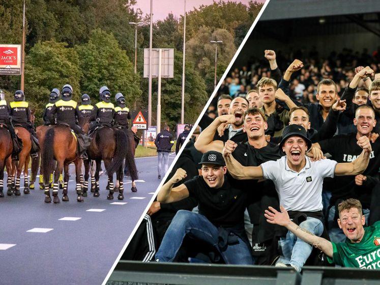 Spanning tussen supporters Feyenoord en Union Berlin