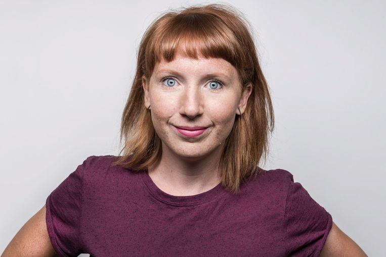 De vlogs van Studio Brussel-presentator Linde Merckpoel bereikt mensen die ooit naar haar radioprogramma luisteren. Beeld © VRT / STUBRU Damon