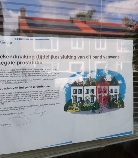 Illegaal sekshuis in Almelo zit op slot, nu wil Beter Wonen zijn huis weer terug