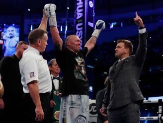 Oekraïense bokser Oleksandr Usyk onttroont Anthony Joshua bij de zwaargewichten