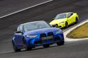 De BMW M3 en M4 op het circuit van Zandvoort