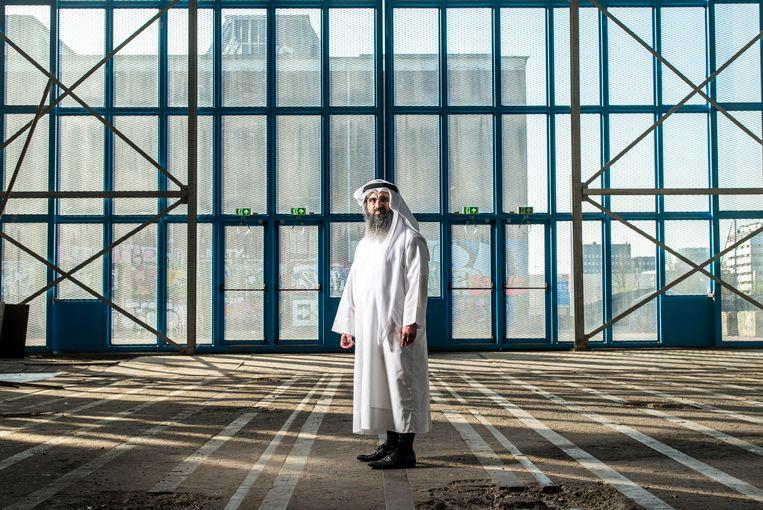 De Qatarese ex-terrorismeverdachte Ali al-Marri . Beeld Jiri Buller