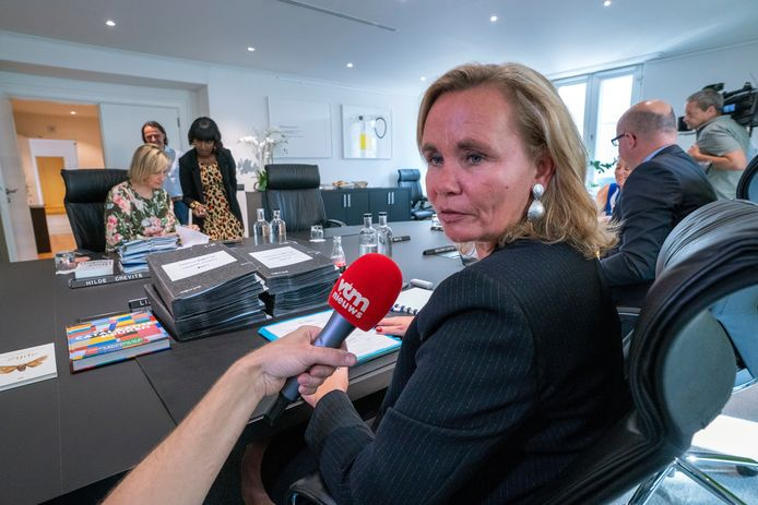 Minister Liesbeth Homans (N-VA)