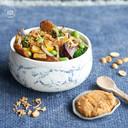 Vega pinda wok uit kookboek Wokking lekker