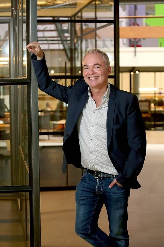 Maarten Franken, ceo van Eindhovens bedrijf GoodHabitz. Wordt huurder van BunkerToren aan Kennedylaan in 2022.