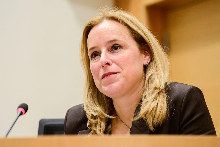 Staatssecretaris voor Begroting Eva De Bleeker (Open Vld) Beeld BELGA