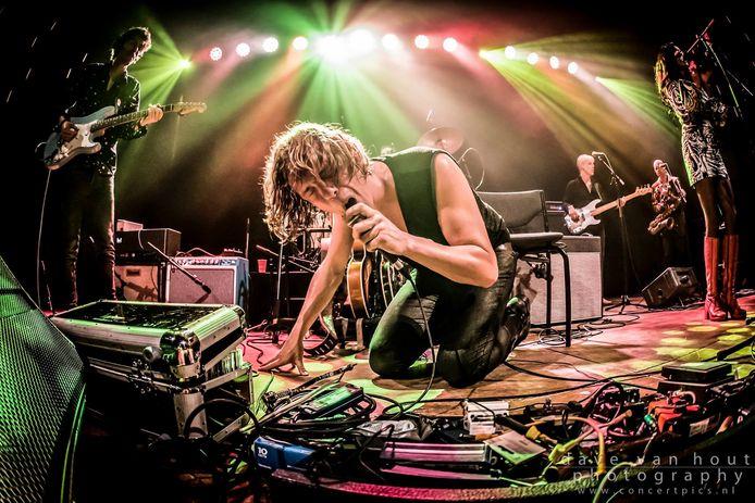 Gitarist Ralph de Jong trad tijdens de digitale cultuurnacht van afgelopen maart solo op.