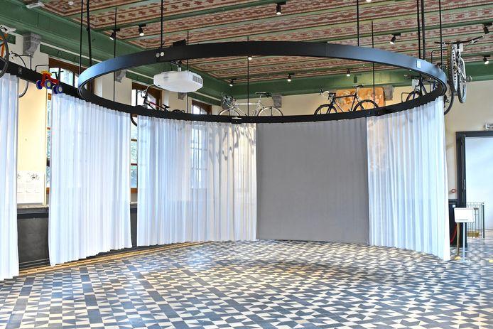 De Zaal der Wereldkampioenen zal straks tijdelijk fungeren als trouwzaal.