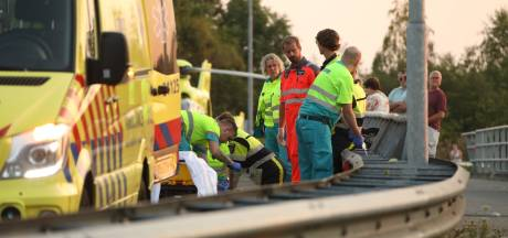 Agente verbijsterd: mensen kropen onder lint door bij dodelijk motorongeval