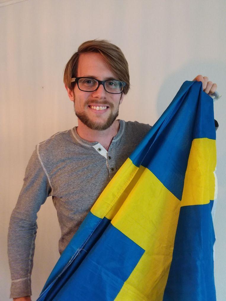 Tomas Bjurström. Beeld rv