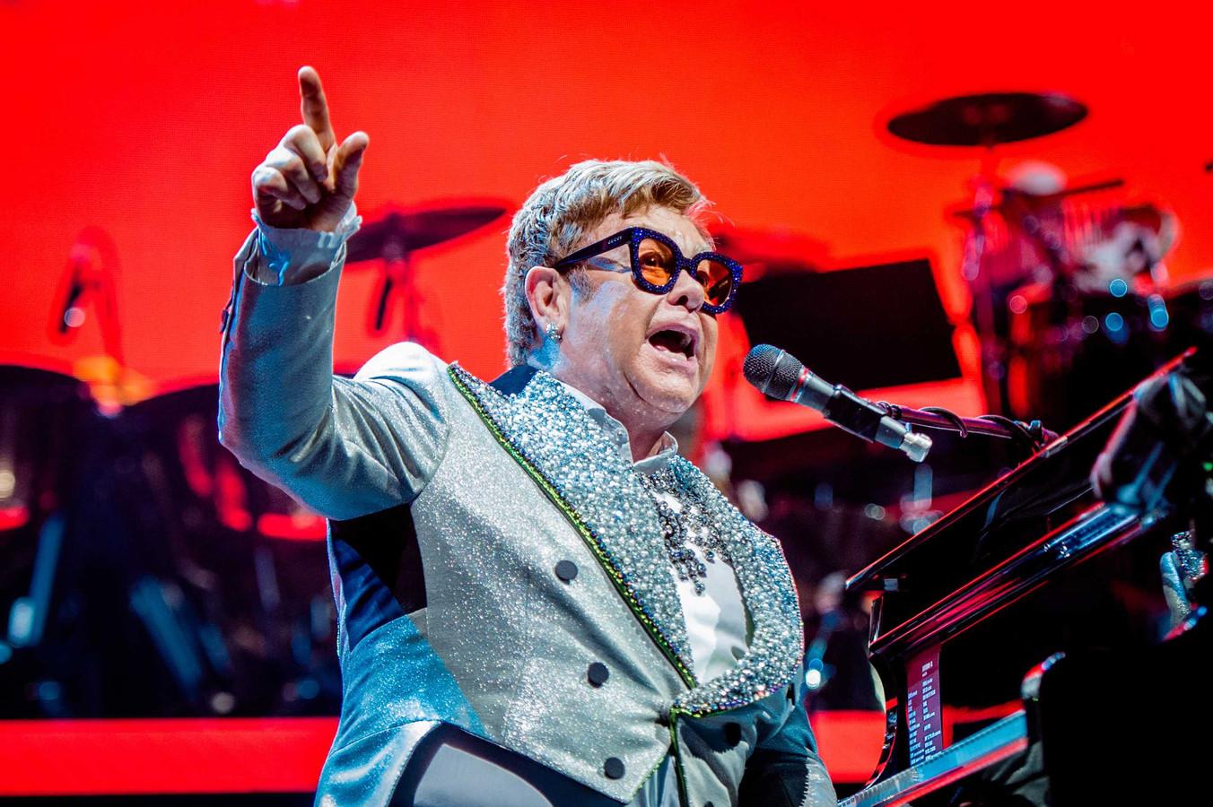 Elton John in Ziggo Dome