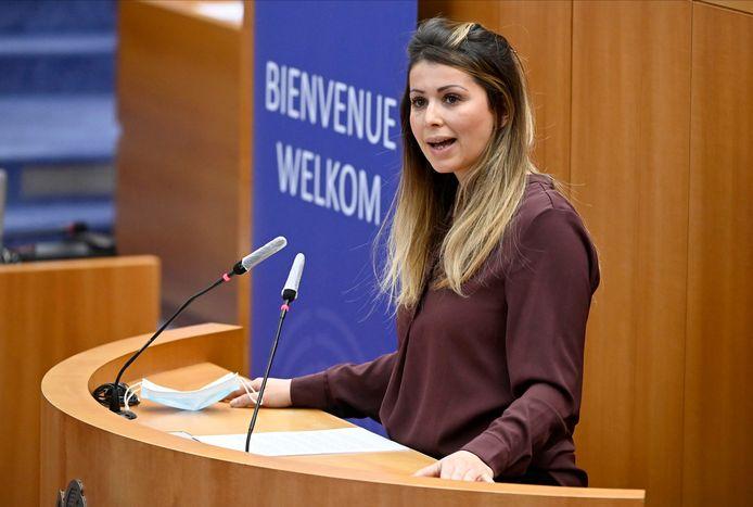 Brussels staatssecretaris voor Huisvesting Nawal Ben Hamou (PS)