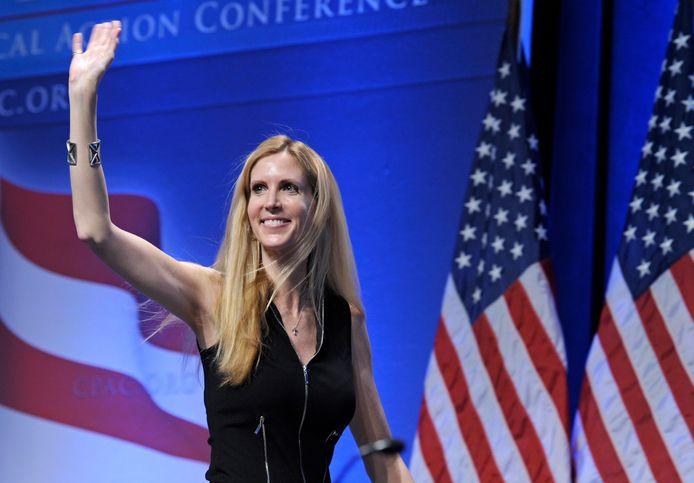 Archiefbeeld. De conservatieve opiniemaker Ann Coulter. (12/02/2011)