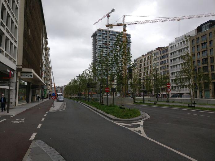 In de ruime omgeving van de Leien en de Plantin en Moretuslei is er verkeershinder door onder meer beschadigingen aan de Jos Brabantstunnel onder het Operaplein.