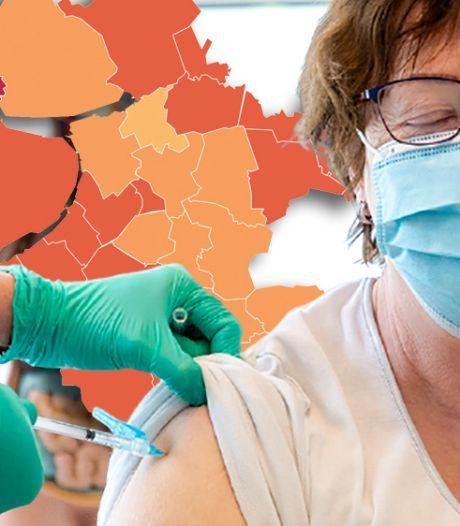 KAART | Urk kampt weer met hoogste aantal coronabesmettingen, weinig patiënten in Flevoland overleden