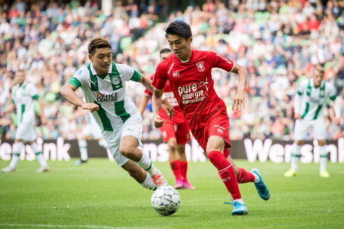 Keito Nakamura évoluait à Twente la saison dernière.