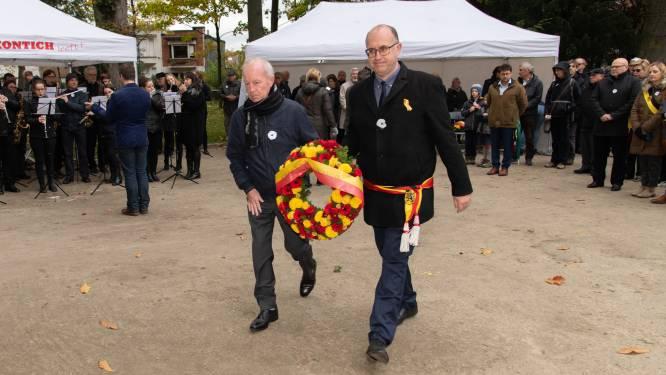 Kontich herdenkt gesneuvelden van beide wereldoorlogen