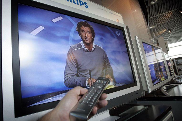 Een 'ouderwetse' televisie (ANP) Beeld
