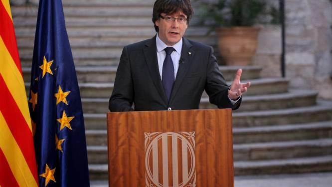 Catalaanse leiders aangeklaagd voor opruiing, rebellie en misbruik overheidsgeld