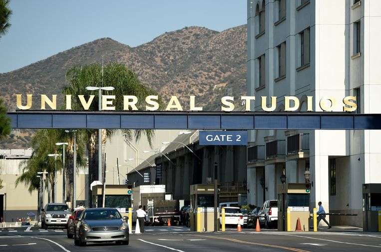 The ingang van Universal Studios in Californië. Beeld Chris Pizzello/Invision/AP