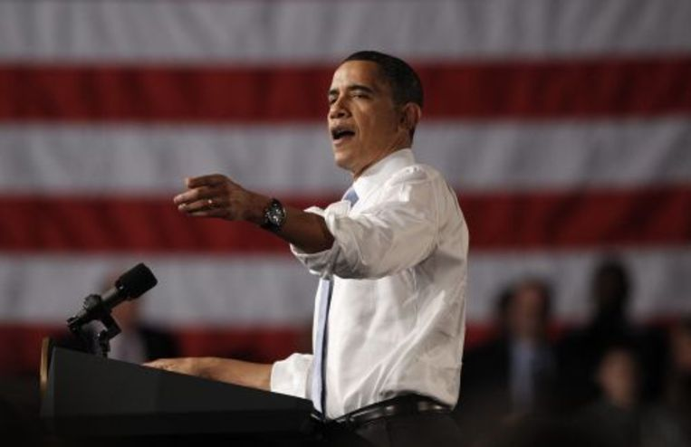 Barack Obama. ANP Beeld