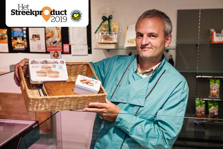 Bakker Ivan Gryp van bakkerij Sint-Rita met de Kontichse specfour.