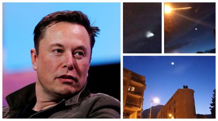 Op verschillende plaatsen in ons land hebben mensen een vreemd lichtgevend fenomeen in de lucht zien verschijnen. Het Amerikaanse ruimtevaartbedrijf SpaceX is vermoedelijk de 'dader'.