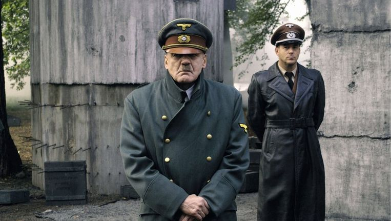 De Zwitserse acteur Bruno Ganz als Hitler in de film Der Untergang Beeld AFP