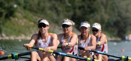 Nederlandse vrouwen al met drie boten naar finale EK roeien