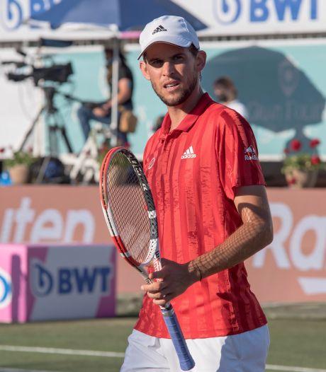 Thiem, blessé, abandonne au 2e tour à Majorque à une semaine de Wimbledon