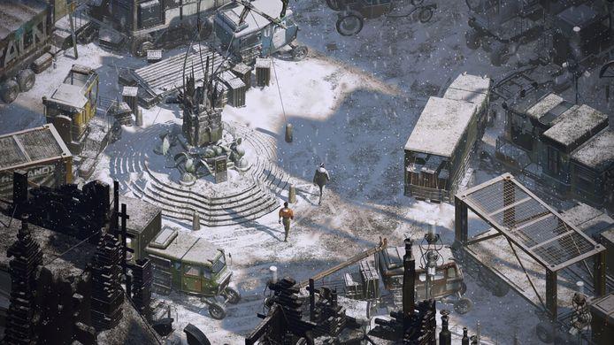 De spelwereld van 'Disco Elysium' ziet er marginaal mooi uit.