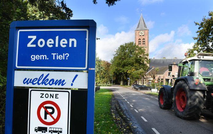Zoelen hoort bij de gemeente Buren. Nu nog wel in ieder geval...