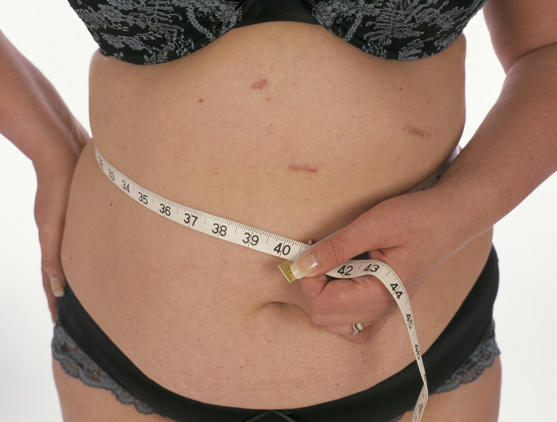 'Door effecten van diëten heb je mensen die amper 1.000 kilocalorieën opnemen per dag - wat heel weinig is - en eigenlijk nog altijd kunnen verzwaren.' Beeld Getty Images