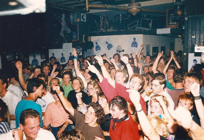 Altijd feest in 't Klapcot aan de Haven in Breda.