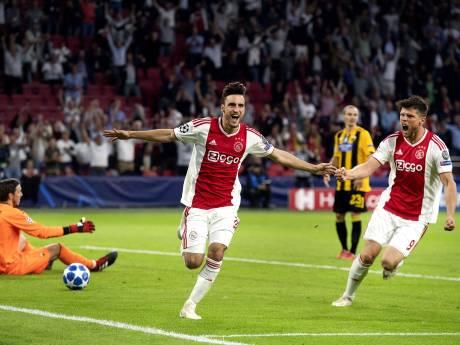 Tagliafico tovert Ajax naar droomstart tegen AEK