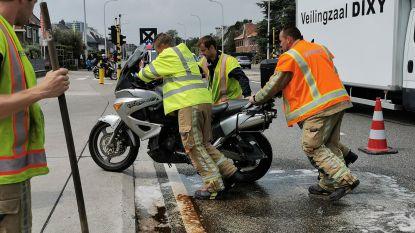 Motorrijder aangereden bij afslagmanoeuvre ter hoogte van benzinestation op N70