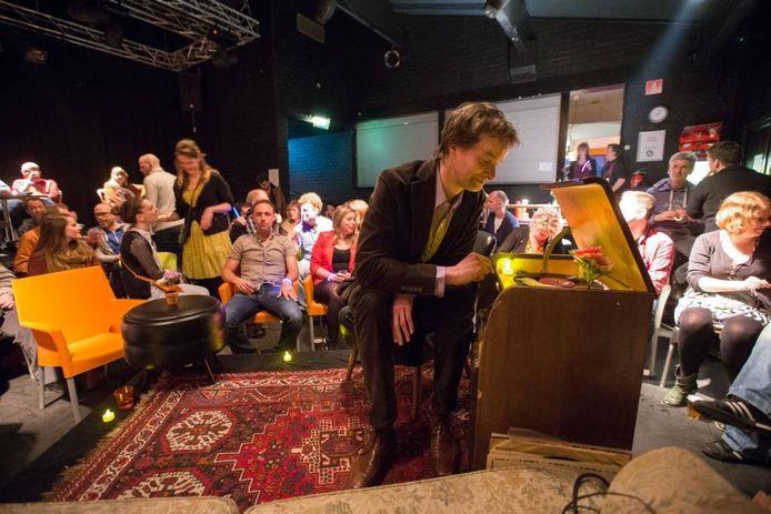 Martin-Jan van Santen won de Gouden Grindbak in 't Ukien. Foto: Freddy Schinkel