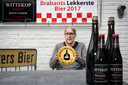 Huub van Dijk uit Made won in 2017 met zijn Wittekop de verkiezing van Brabants Lekkerste Bier.