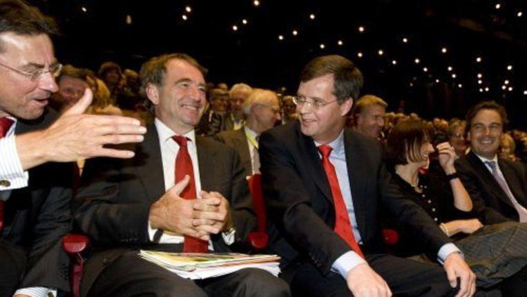 Premier Balkenende na zijn toespraak op het CDA-congres. Foto ANP Beeld
