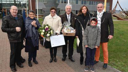 Lambert en Christiane vieren 50 jaar huwelijksgeluk