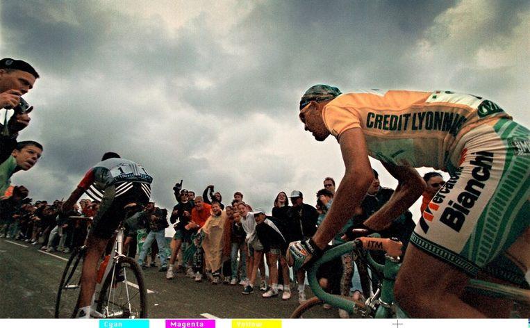 De Franse Senaat bracht vandaag een rapport naar buiten over de TOur de France van 1998, bijgenaamd de Tour du dopage, en die van een jaar later. Met nieuwe methoden zijn bloedmonsters van destijds opnieuw getest. En zo worden sommige renners alsnog door de waarheid ingehaald - al bekenden sommigen hun gebruik al eerder. Een overzicht.<br /><br />Marco Pantani, hier geletruidrager, zou de Tour van '98 winnen. Ook hij gebruikte EPO. Pantani overleed in 2004, nog voor publicatie van het rapport werd bekend dat hem zijn zege niet afgenomen zal worden. Beeld null