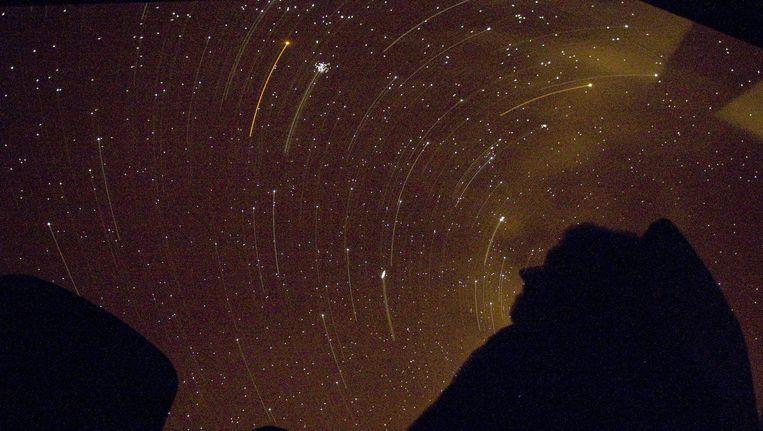 Een sterrenregen uit 2007. Beeld anp