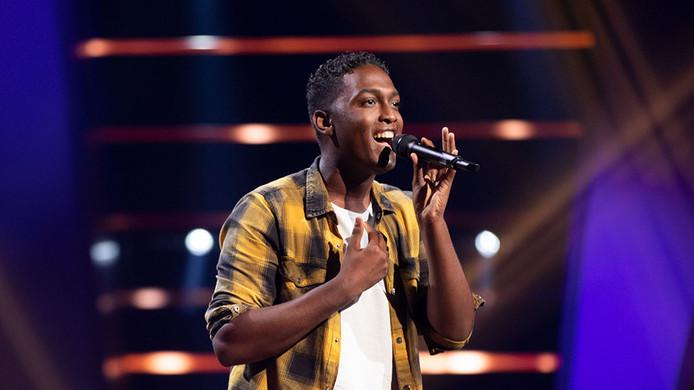 Lyall  Silié scoorde vrijdagavond bij Te Voice of Holland.