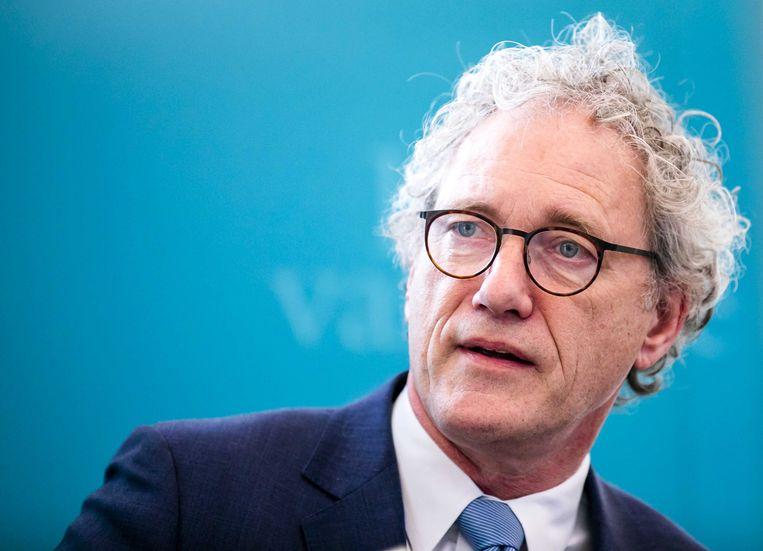 Vice-president Thom de Graaf van de Raad van State.  Beeld ANP - Remko de Waal