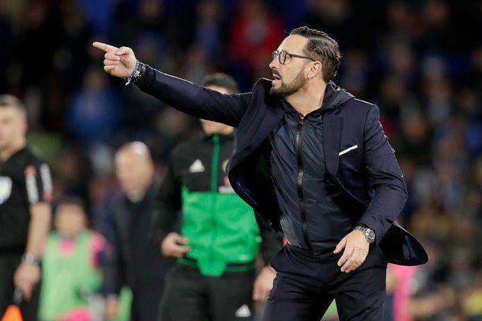 Coach José Bordalás.
