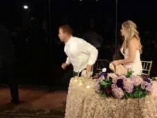 Bruidegom redt leven van vrouw op eigen bruiloft