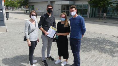 """Bijna iedereen draagt mondmasker in bebouwde kom van Deinze: """"Wie geen draagt, wordt scheef bekeken"""""""